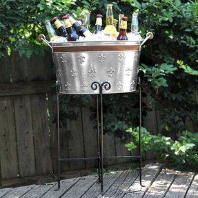 Beverage Tubs With Stand Foter