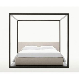 Four post canopy bed frame