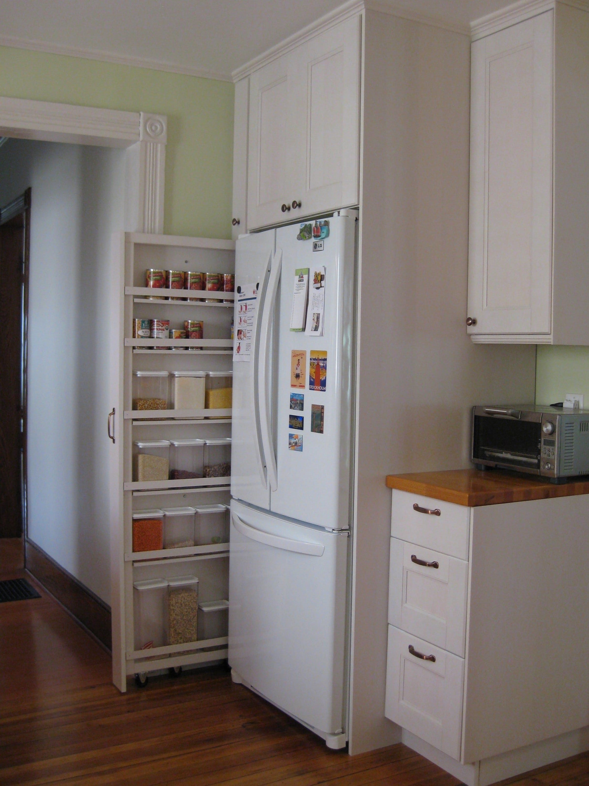 Delicieux Fridge Pantry Cabinet