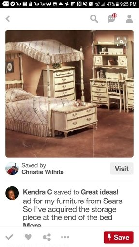 Girls canopy bedroom set 9