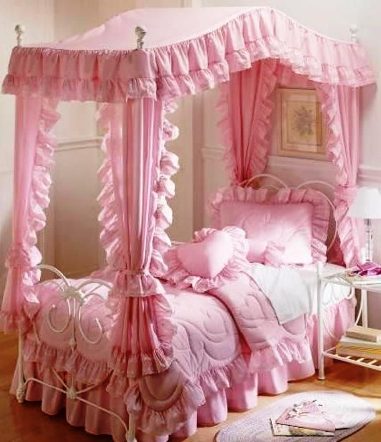 Girls room canopy : pink canopy for bed - memphite.com