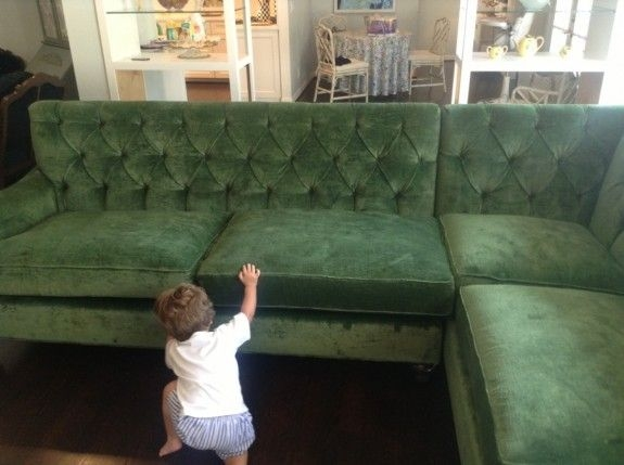 Green Sectional Sofa 7
