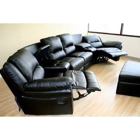 Home theater sectional seating 2