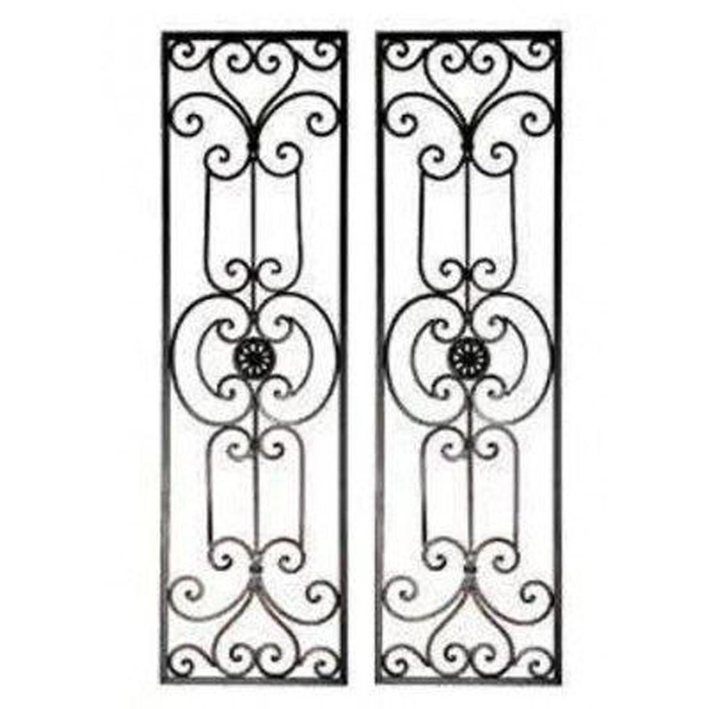 Attractive Iron Scroll Wall Decor