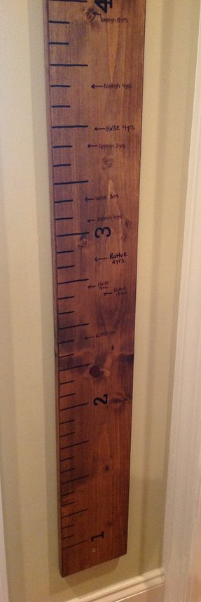 Hanging Growth Chart Ideas On Foter
