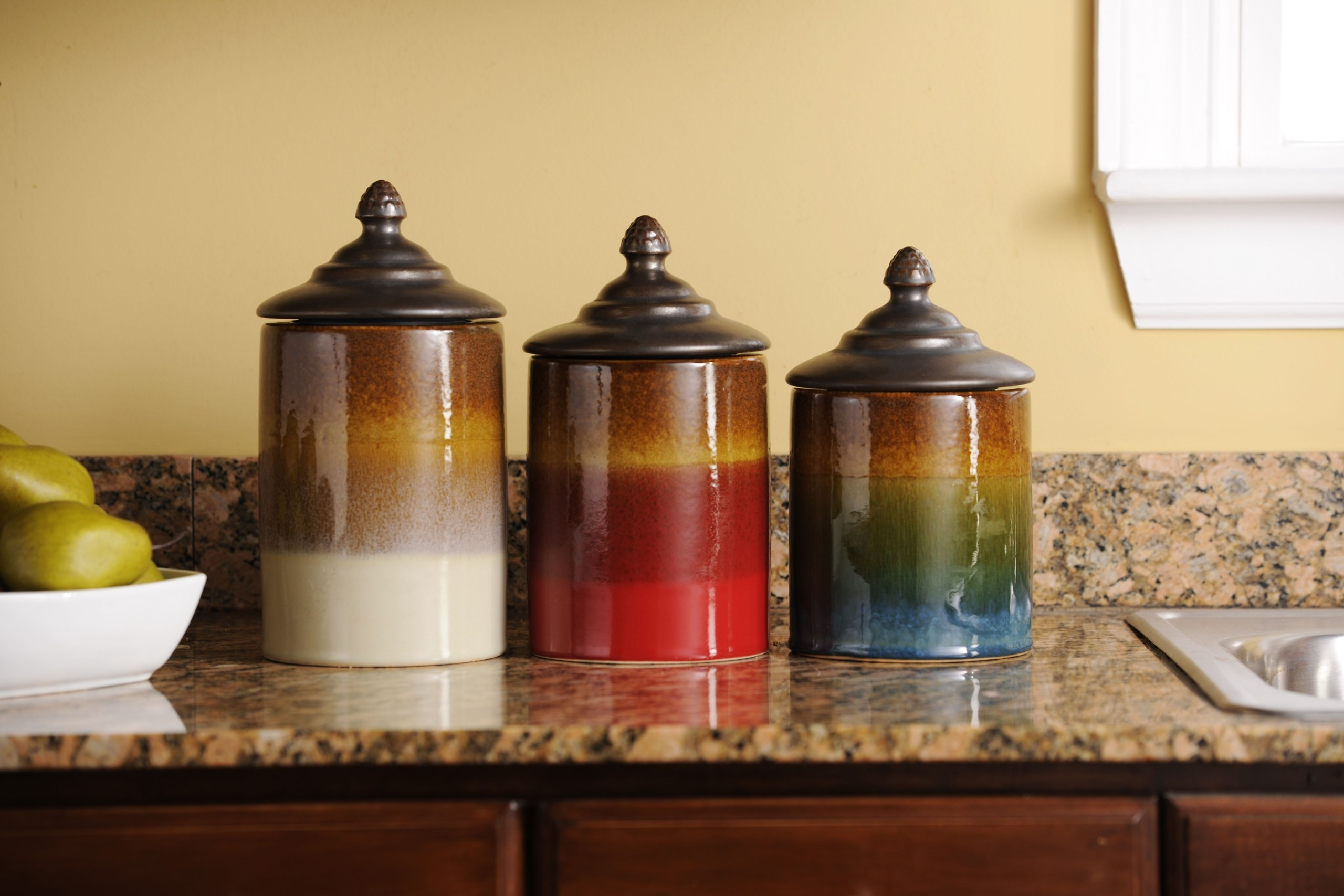 Kitchen Canisters Ceramic Sets