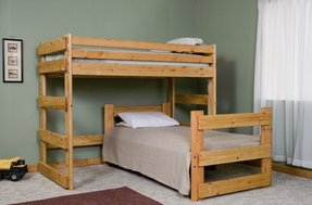 L shape bunk bed 17