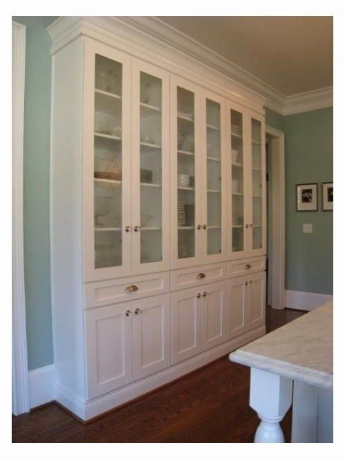 Merveilleux Large China Cabinet
