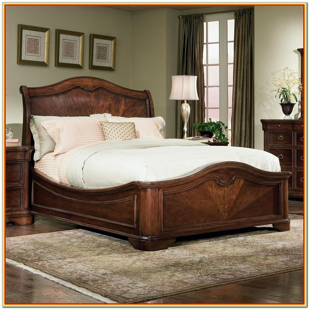 Classic Wooden Bed Frames Exterior