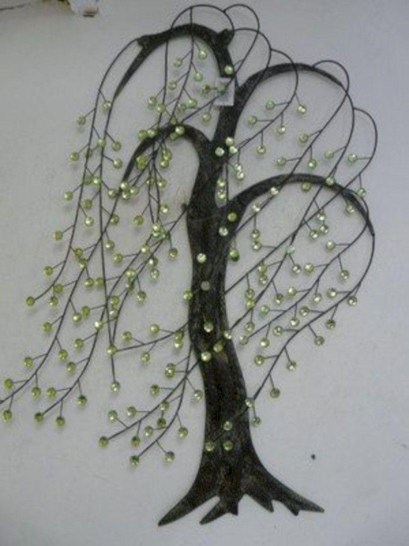Metal leaf wall art & Metal Wall Art Leaves - Foter