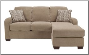 Microfiber sofa with chaise 23