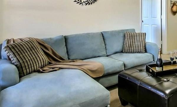 Microfiber Sofa With Chaise 6