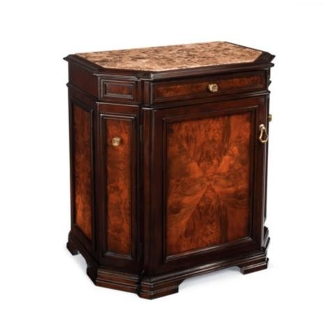 Newport Mini Bar Single Door Cabinet   Frontgate