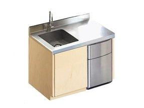 Mini Refrigerator Cabinet Bar 8