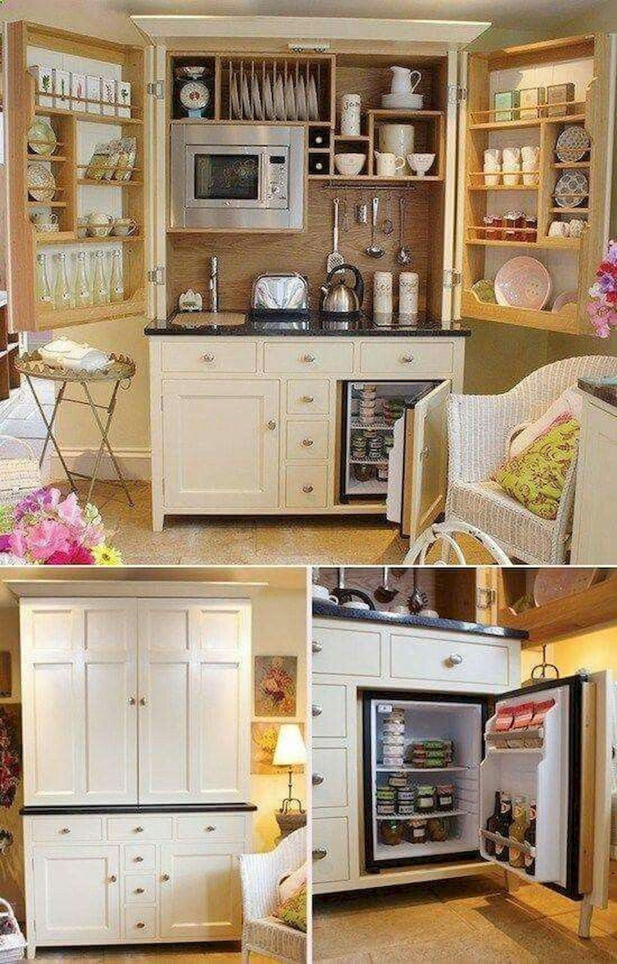 Bon Mini Refrigerator Cabinet Bar   Ideas On Foter