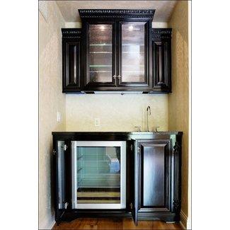 Mini Refrigerator Cabinet Bar - Ideas on Foter