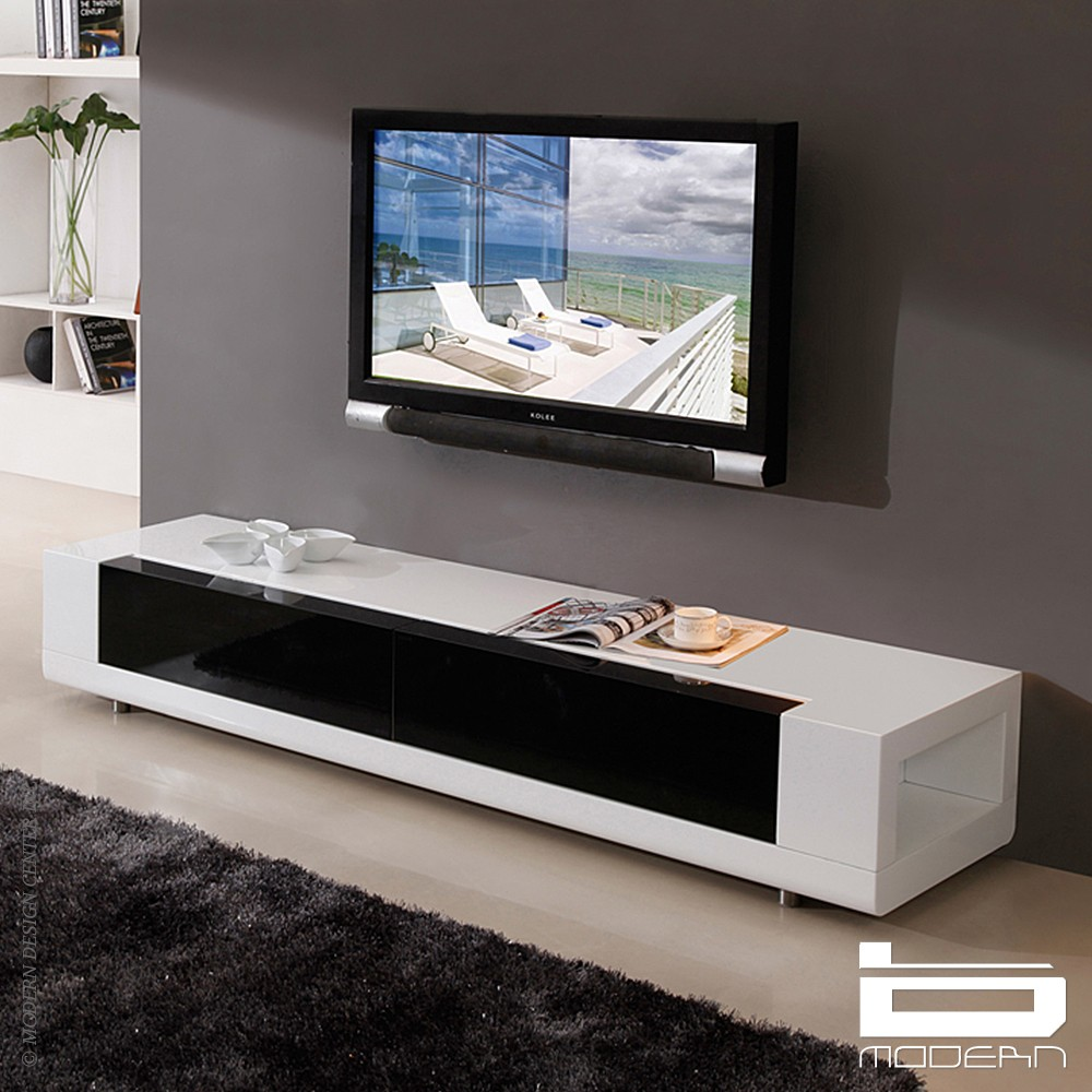 700825 TV STAND NEW Coaster TV STAND WHITE