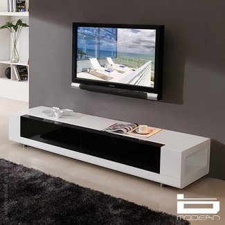 contemporary white tv stand ideas on foter. Black Bedroom Furniture Sets. Home Design Ideas