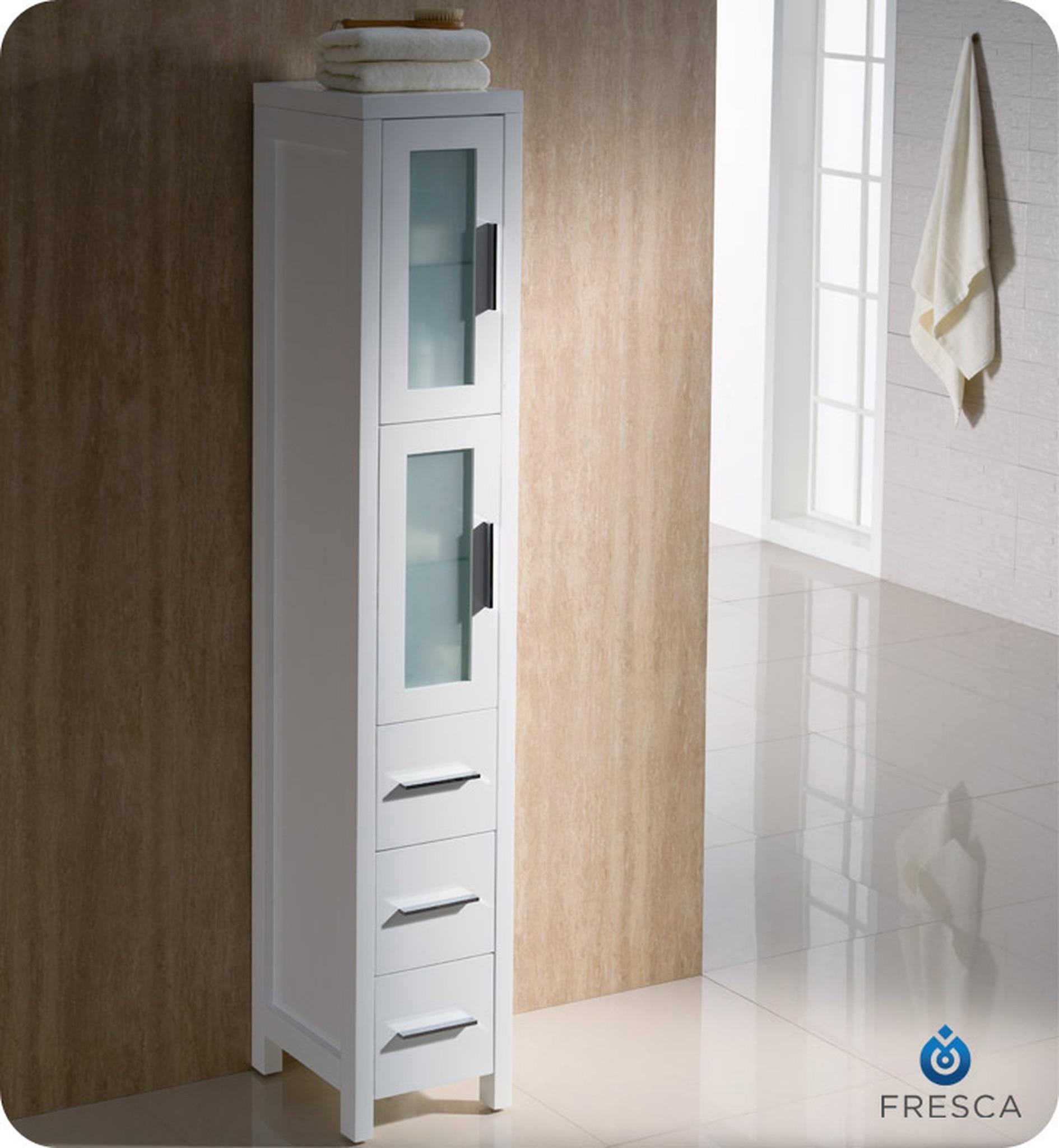 Genial Shallow Linen Cabinet