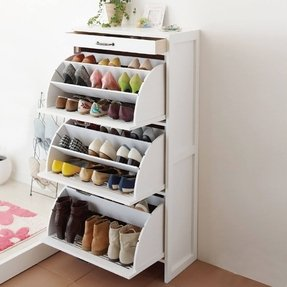 Narrow Shoe Rack Foter