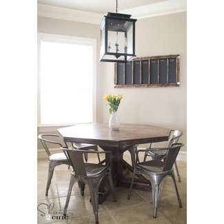Octagon kitchen table 2