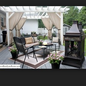 Outdoor metal fireplace 5