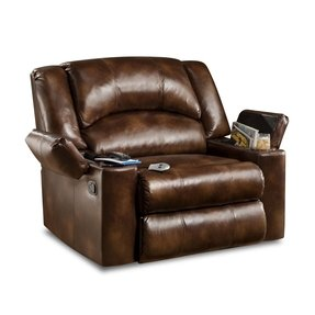 Oversized leather recliners 1