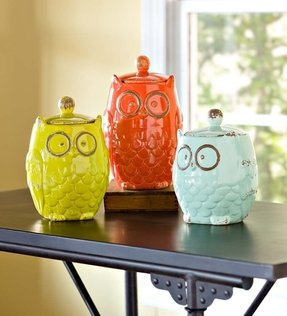 Owl canister set