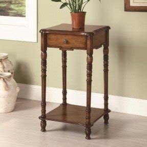 Plant stand with drawer 25