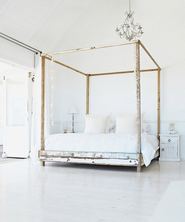Incroyable Platform Bed With Canopy