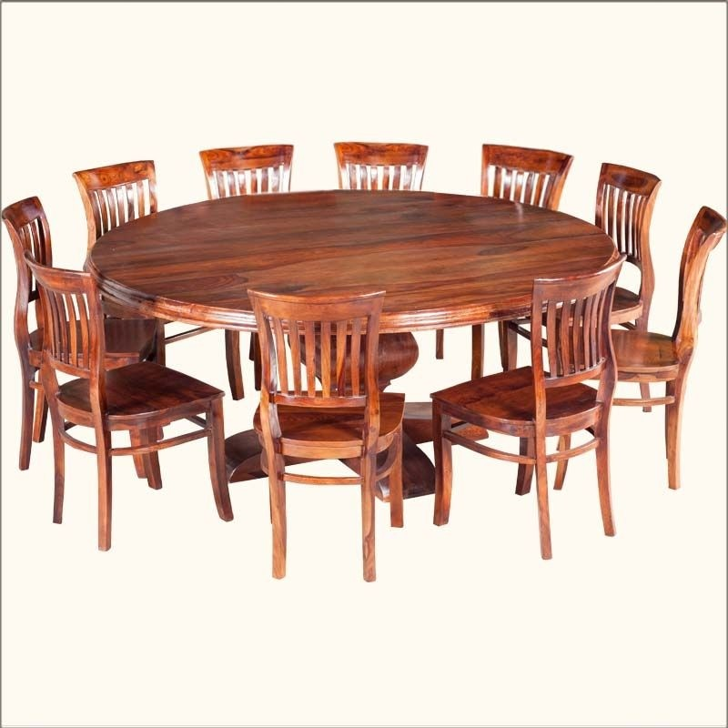 Round dining tables for 8 & Large Round Dining Table Seats 10 - Foter