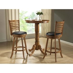 Round Pub Table Set 2