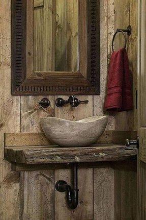 Rustic Vessel Sinks Ideas On Foter