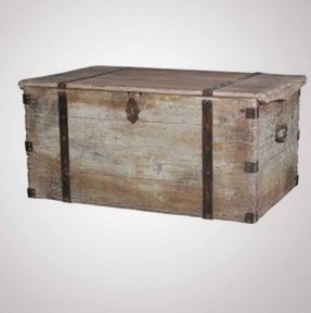 Rustic chest coffee table 1
