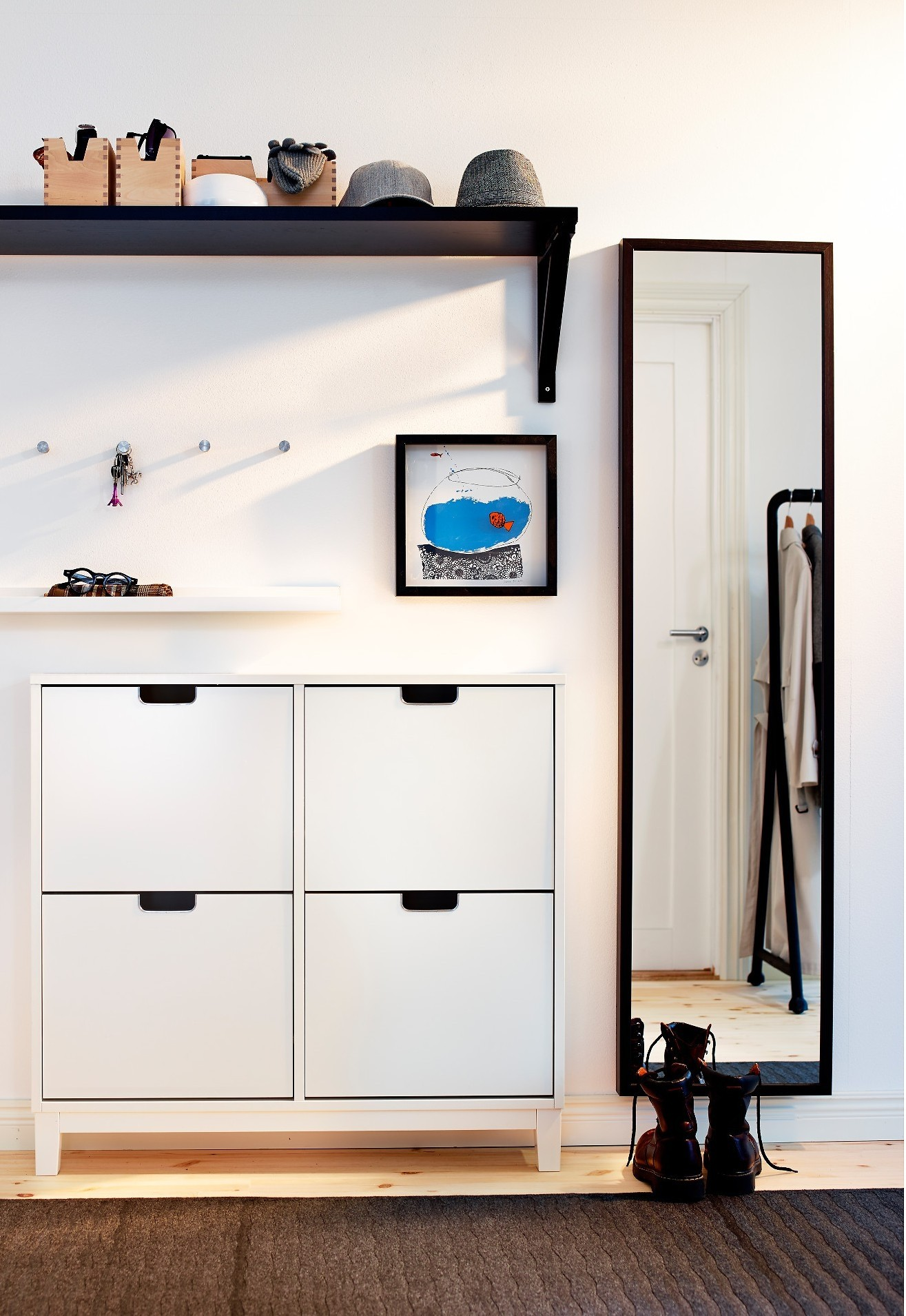 Superieur Shoe Storage In Small Entryway
