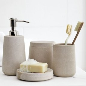 Stone Bathroom Accessories Foter - Slate bathroom accessories