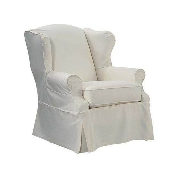 Superieur Slipcovered Wingback Chair 1