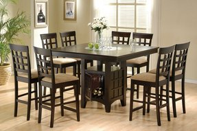 Square 8 seater dining table 4