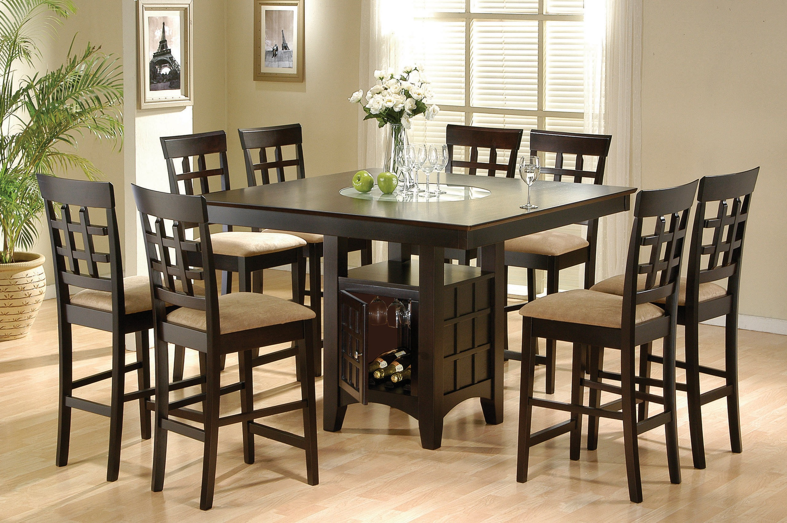 Beau Square 8 Seater Dining Table 4