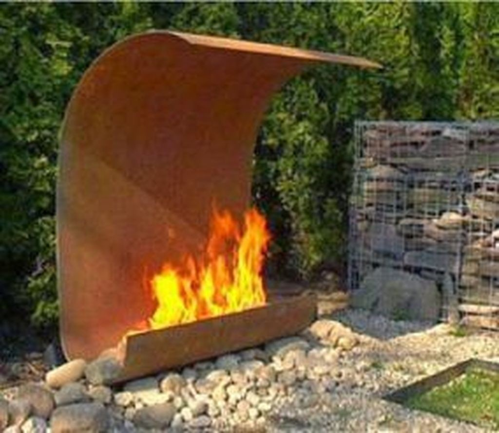 steel outdoor fireplace ideas on foter rh foter com outdoor stainless steel fireplace outdoor steel fireplace with chimney