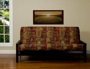 Stickley queen upholstery grade decorative futon cover