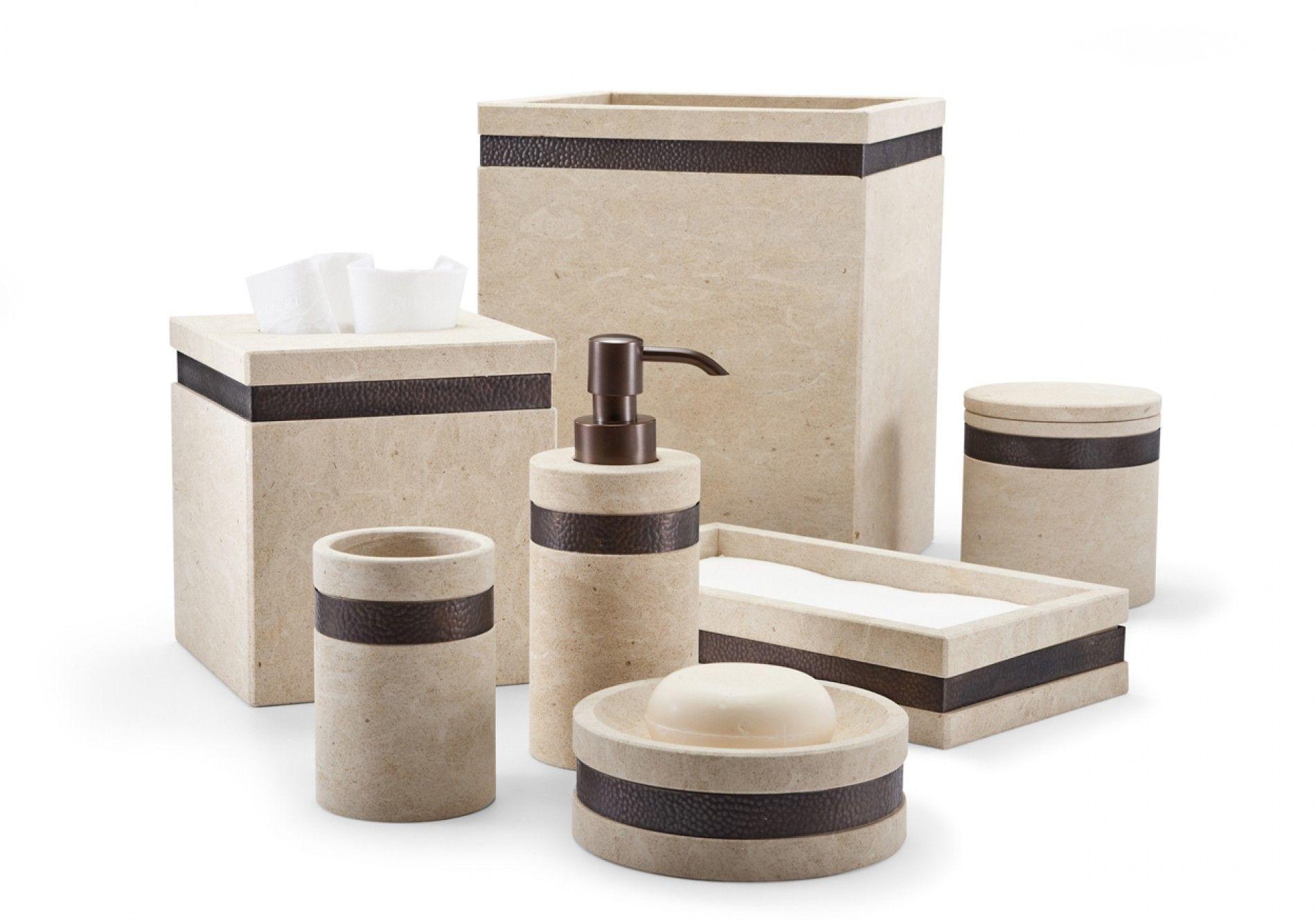 Nice Stoneware Bathroom Accessories
