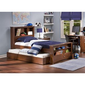 Trundle Bed With Bookcase Headboard Ideas On Foter