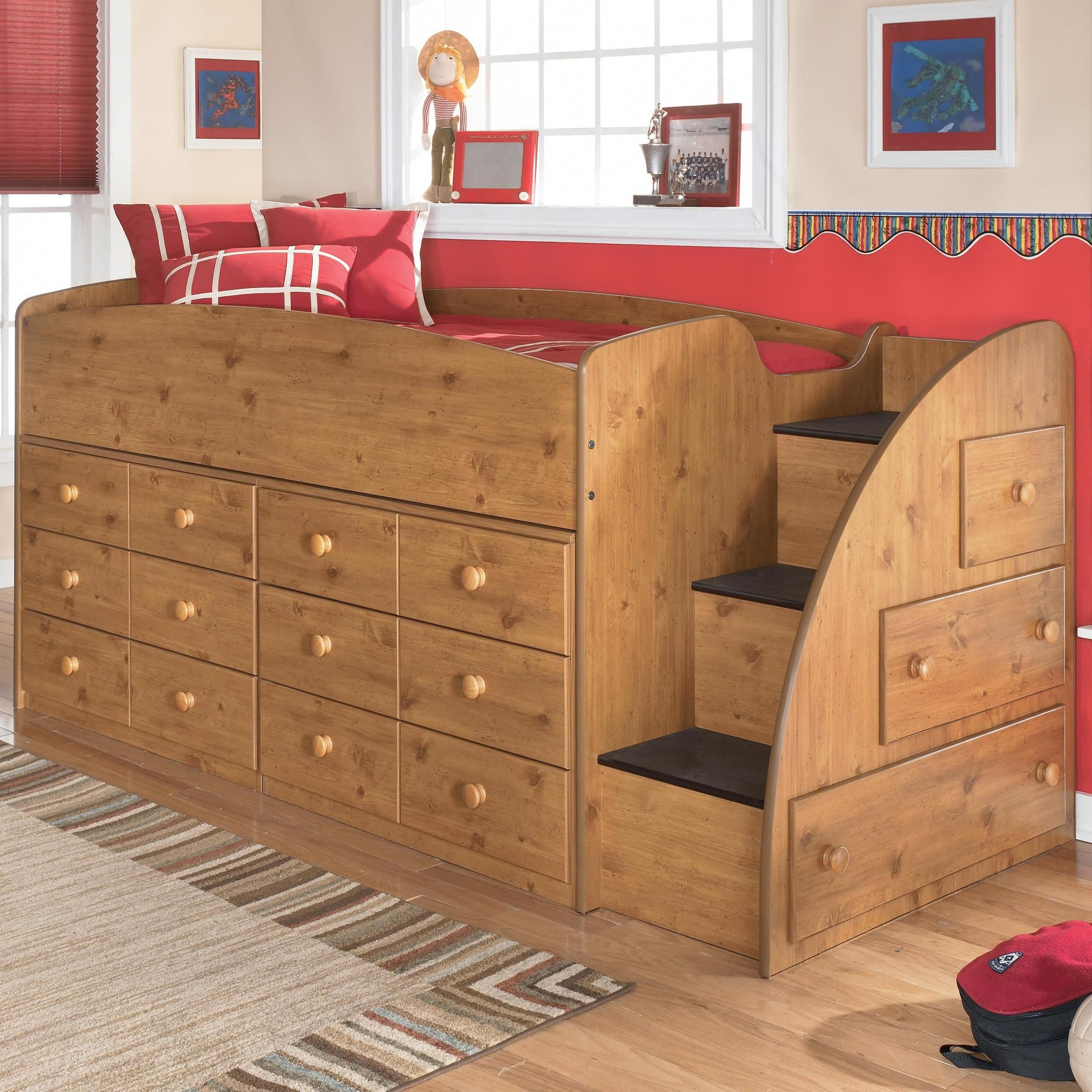 Twin loft bed with storage underneath 12 & Twin Loft Bed With Storage Underneath - Foter