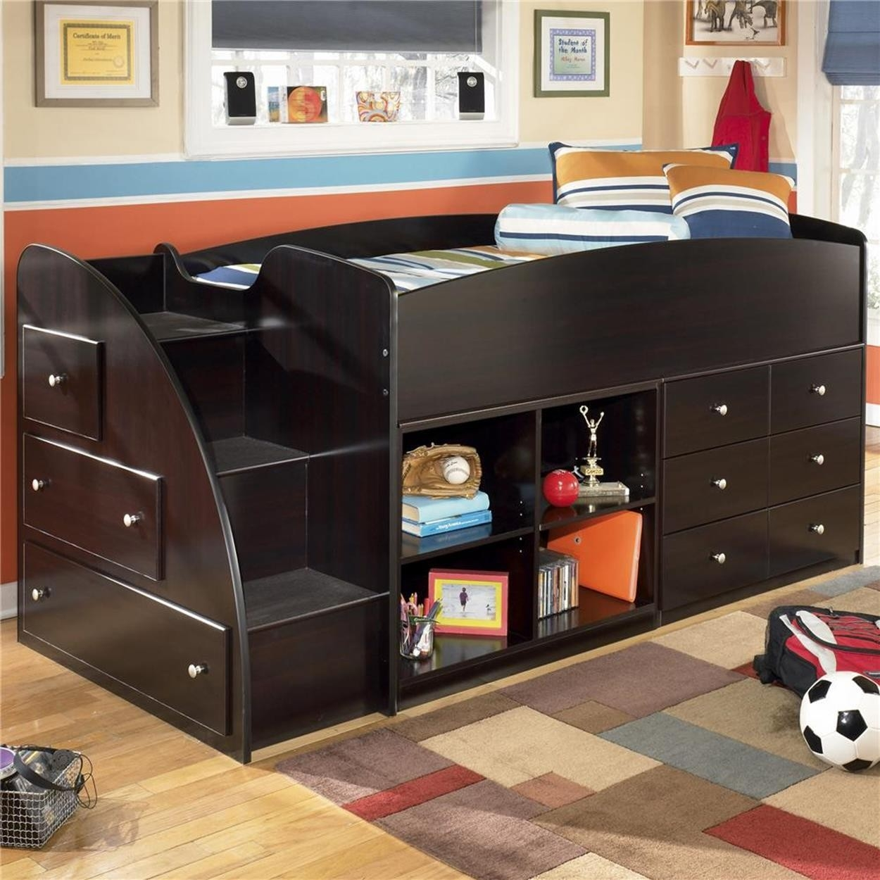 Twin loft bed with storage underneath & Twin Loft Bed With Storage Underneath - Foter