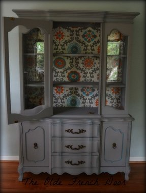 Small China Cabinet Shabby Chic