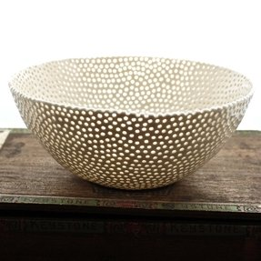 White porcelain berry bowl 2