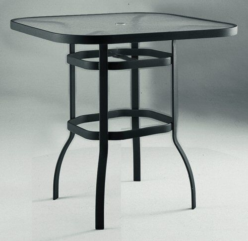 Wrought Iron Bar Height Table 4
