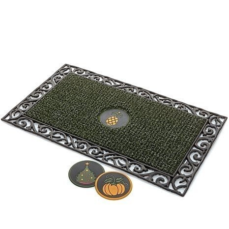 Wrought Iron Doormat 12