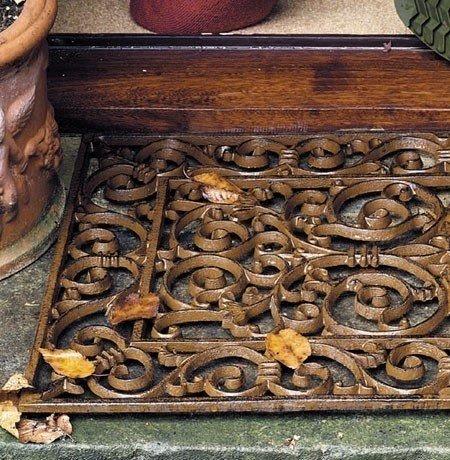 Wrought Iron Doormat 19